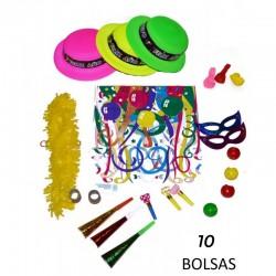 BOLSA COTILLON BOMBÍN PVC (...